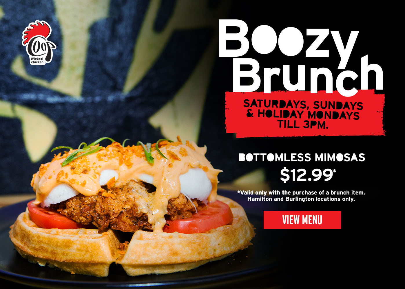 Boozy Brunch at The Coop View Menu